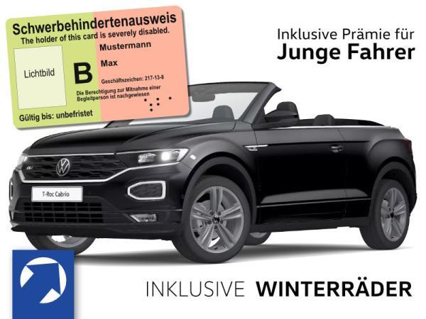 Volkswagen T-Roc Cabrio R-Line 1,5 TSI OPF (150 PS) DSG *WINTERRÄDER* nur für Fahrer unter 21 und Schwerbehinderung,