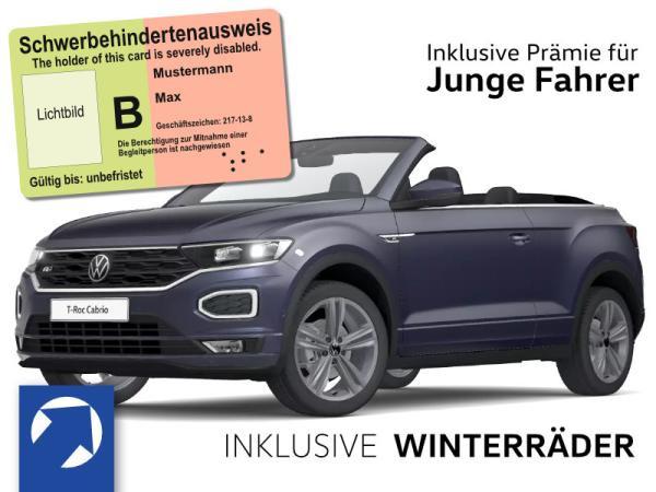 Volkswagen T-Roc Cabrio R-Line 1,5 TSI OPF (150 PS) DSG *WINTERRÄDER* nur für Fahrer unter 21 und Schwerbehinderung