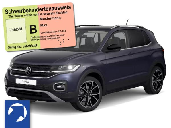 Volkswagen T-Cross Style 1.5 l TSI ACT OPF (150 PS) DSG*AHK*Behindertenangebot nur mit Fahrer U21!