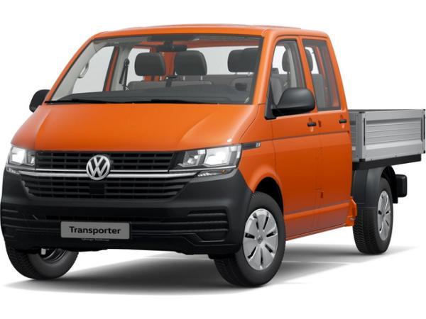 Volkswagen T6 Transporter Pritschenwagen Doppelkabine Motor: 2,0 l TDI SCR BlueMotion Technology 81 kW Getriebe: 5-Gang-Schalt