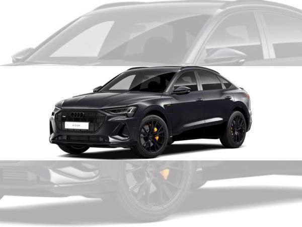 Audi e-tron Sportback 50 S line Black   21