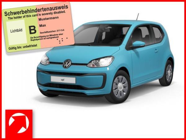 Volkswagen up! 1,0 l 44 kW (60 PS) 5-Gang ***SONDERANGEBOT FÜR MENSCHEN MIT BEHINDERUNG*KLIMA***