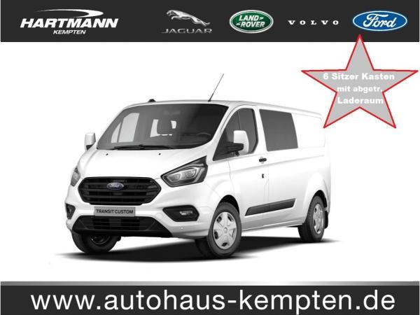 Ford Transit Custom Kasten Doppelkabine Trend L2 130PS*Klima*PDC*RadioBT*6-Sitzer! frei konfigurierbar!!
