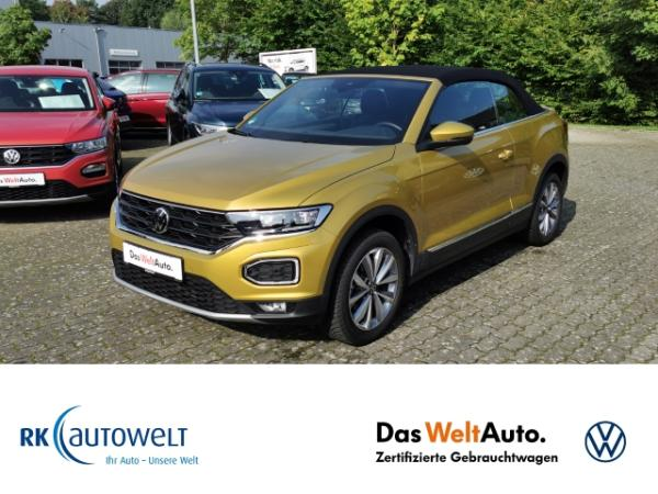 Volkswagen T-Roc Cabriolet Style 1.5 TSI LED Navi Climatronic ACC