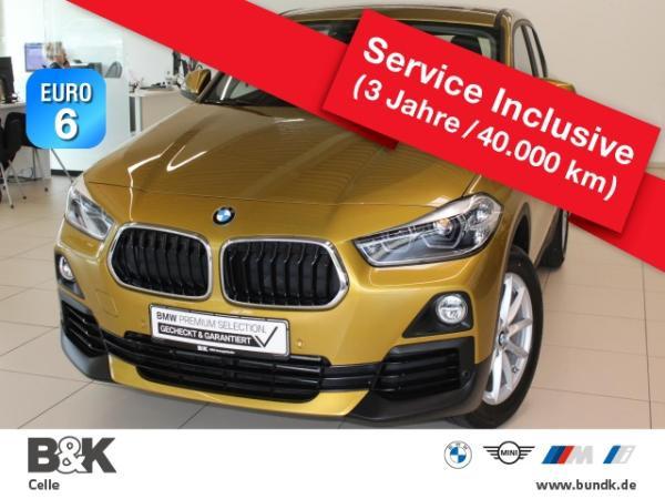 BMW X2 sDrive18d Advantage Leasing ab 279 EUR o.A.