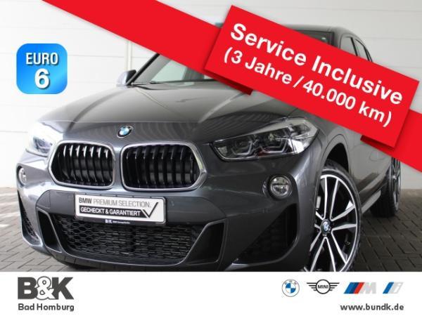 BMW X2 sDrive 18d M Sport Leasing ab 289 EUR o.Anz