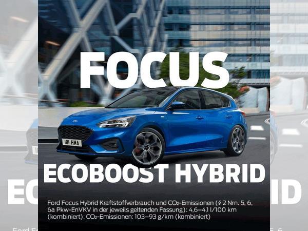 Ford Focus ST-Line Ecoboost Hybrid (mHEV)