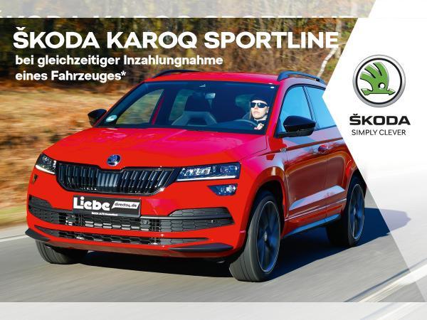 Skoda Karoq SPORTLINE 1.5TSI ACT LED|NAVI|FRONT-ASSIST|SHZ|PDC|TEMPOMAT