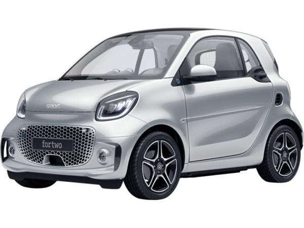 Smart ForTwo EQ pulse mit exclusive Paket und 22 kw Lader