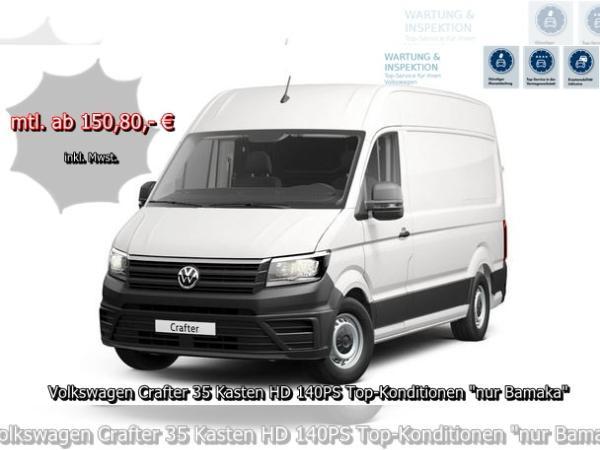 Volkswagen Crafter 35 Kasten HD 140PS Top-Konditionen