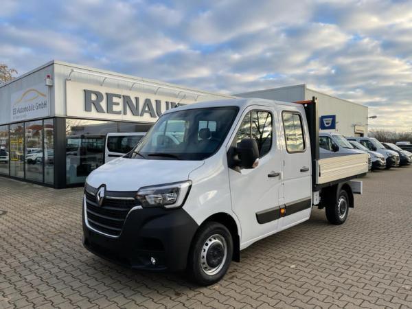 Renault Master L2 DoKa Pritsche dCi 135 inkl. Klima/Radio/Überführung/Anlieferung