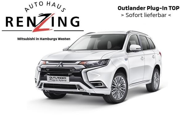 Mitsubishi Outlander Plug-In Hybrid TOP -Schiebedach- Leder- Assistenzpaket- Standheizung elektrisch