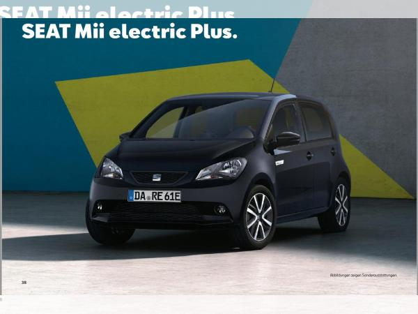 Foto - Seat Mii electric Edition Power Charge PSM 61 kW (83 PS) 1-Gang-Automatik