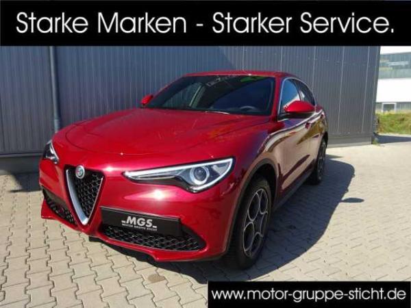 Alfa Romeo Stelvio 2.0 Turbo Q4 #SUPER #VELOCE #ACC #NAVI