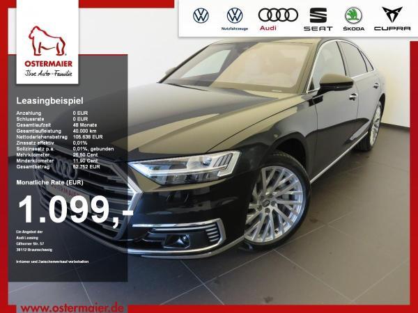 Audi A8 60 TFSI e quattro HeadUp B&O 20'' kmof