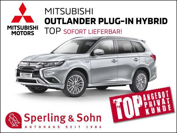 Mitsubishi Outlander Plug-In Hybrid TOP *Schiebedach* *Assistenz-Paket* *Standheizung*