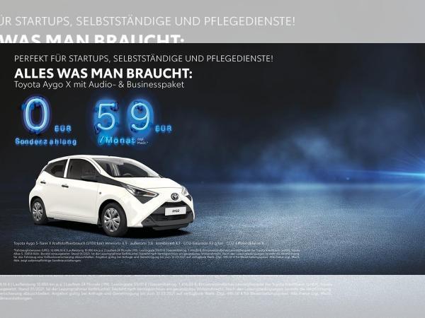 Toyota Aygo X mit Business-Paket Klima und Audio