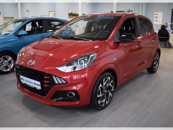 Hyundai i10 1.0 Turbo N-Line Navi LMF 16 Klimaaut. SH...