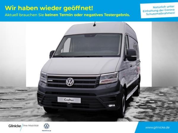 Volkswagen Crafter e-mittellang Hochdach LED Navi Kurvenlicht Rückfahrkam. Fernlichtass.