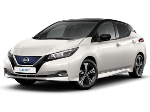 Nissan Leaf N-Connecta weiß // Dach schwarz | Winterpaket | NAVI | KEYLESS | 17