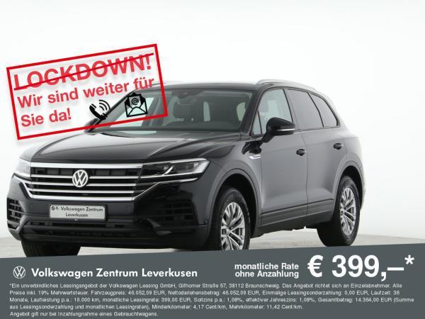 Volkswagen Touareg ab mtl. 399€¹ LEDER ASSISTENZEN LUFT KAMERA AHK ACC (Nur bei Inzahlunganhem)