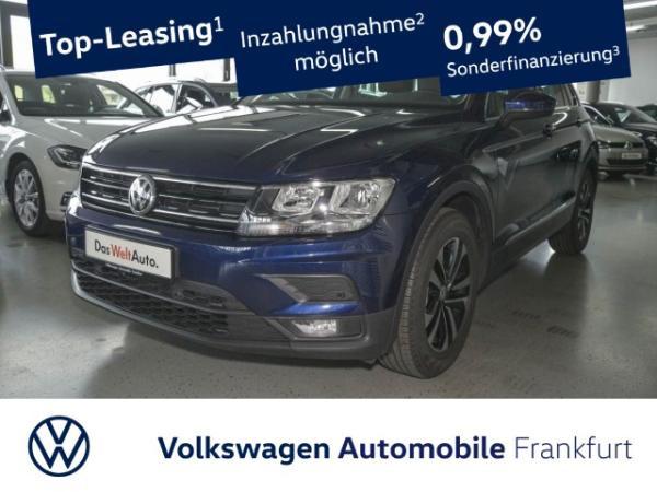 Volkswagen Tiguan 2.0 TDI Comfortline United Einparkhilfe Navi AHK Leichtmetallfelgen 2.0 CLBMTFR 110TDIM6F