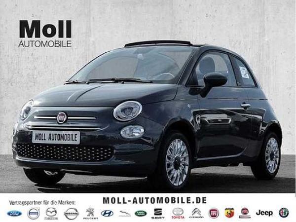 Fiat 500C Serie 8 Lounge Hybrid - Klima, Apple CarPlay, Dach grau **sofort verfügbar**
