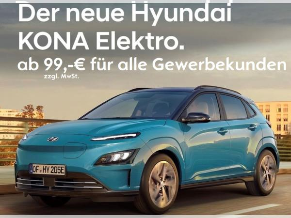 Hyundai KONA MJ21 100kW*99,- Netto AKTION*FÜR ALLE GEWERBEKUNDEN*0,25%*