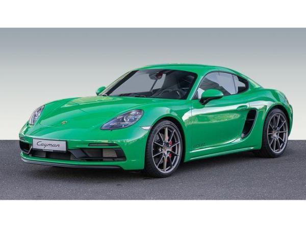 Porsche Cayman GTS 4.0 in pythongrün - sofort verfügbar