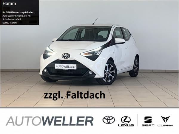 Toyota Aygo Team D + SKY Paket *Faltdach*Kamera*Klima*Apple Carplay*Smart Key*