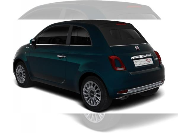 Fiat 500C MY21 1.0 GSE Hybrid Dolcevita, Apple/ Android Auto, Einparkhilfe