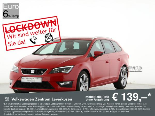 Seat Leon ST Style 1.5 TSI ab mtl. 139€¹ FULL LINK ACC KAMERA PDC (Nur bei Inzahlungnahme)