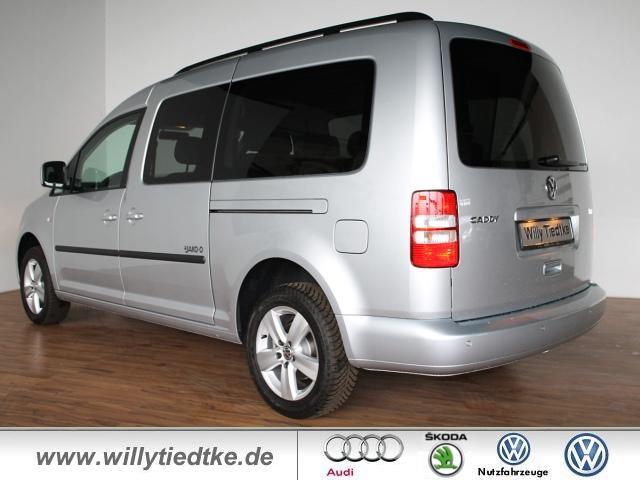 neuvertrag volkswagen caddy maxi trendline jako o 1 2 tsi 77 kw van kleinbus silber. Black Bedroom Furniture Sets. Home Design Ideas