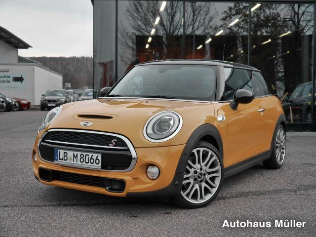 neuvertrag mini cooper s head up display harman kardon navi led uvm kleinwagen orange. Black Bedroom Furniture Sets. Home Design Ideas