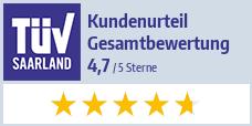 TÜV zertifiziert - Kundenbetreuung