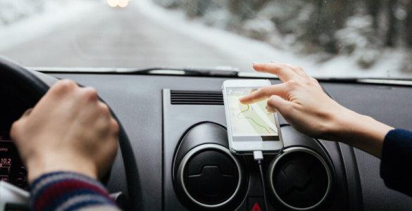 smartphone app im auto