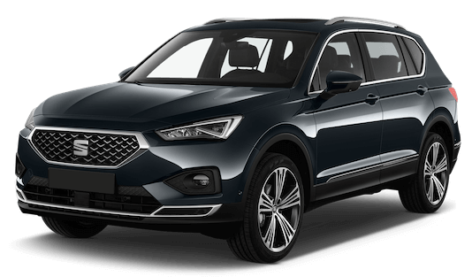 seat tarraco frontansicht