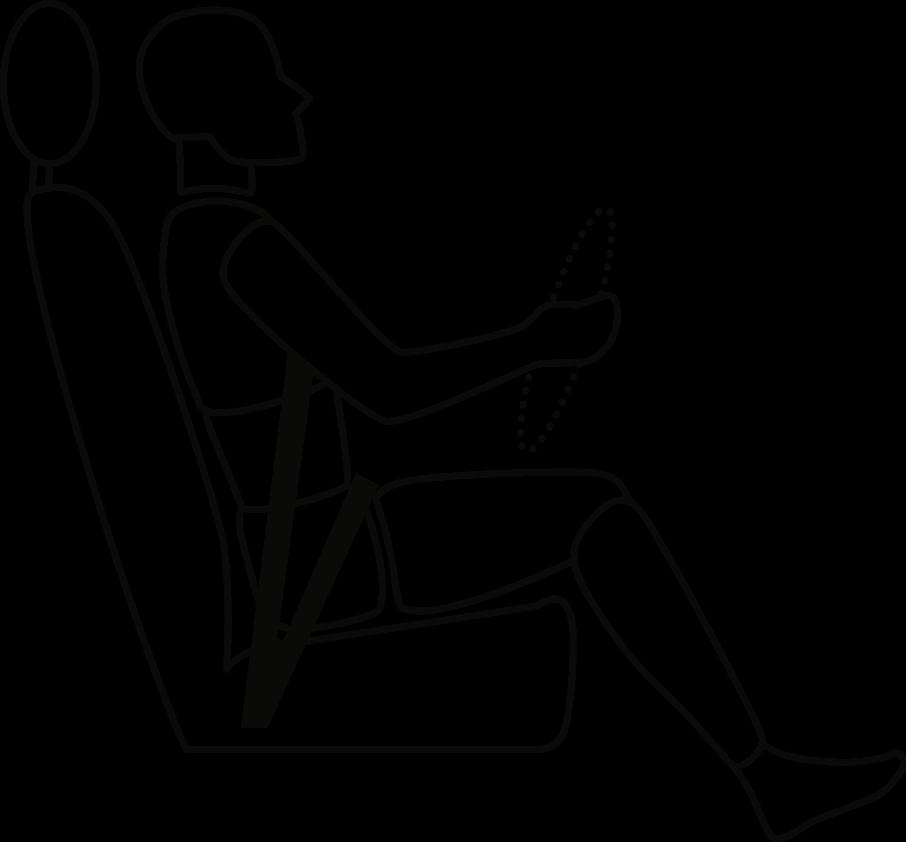richtige sitzhaltung und sitzposition im auto