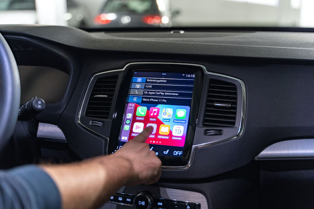 apple carplay infotainmentsystem
