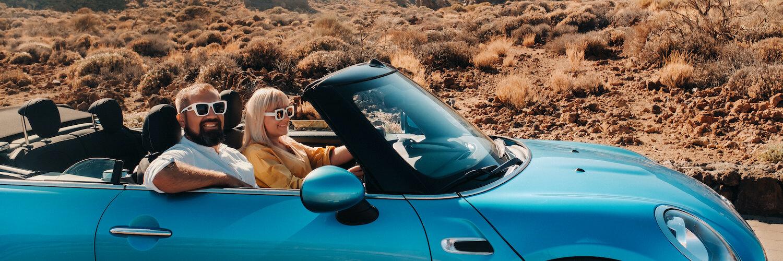 entspannte reise im auto