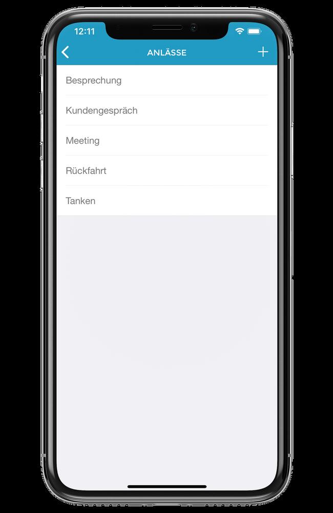 vimcar app anlässe