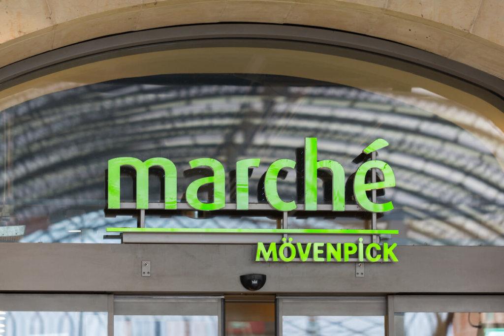 marche moevenpick restaurant an einer raststaette