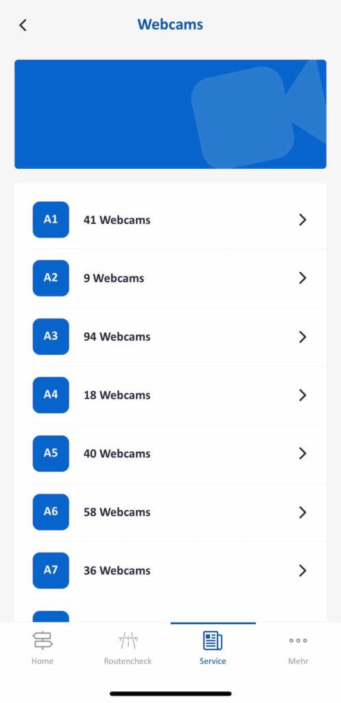 autobahn app live webcams