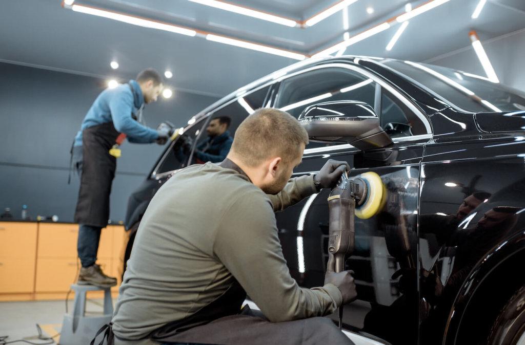 pkw autoaufbereitung politur