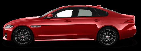jaguar xf seitenansicht
