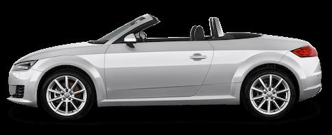 audi tt roadster cabrio seitenansicht