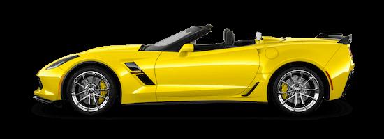 corvette c7 grand sport cabrio seite