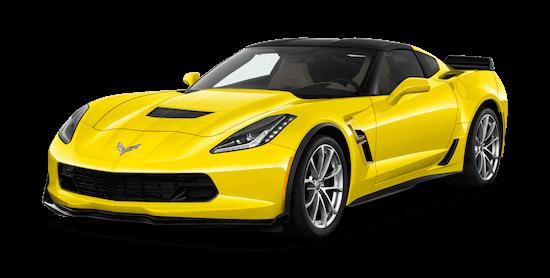 corvette c7 grand sport coupe front