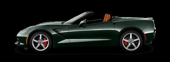 corvette c7 stingray cabrio seite