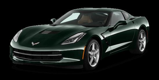 corvette c7 stingray coupe front